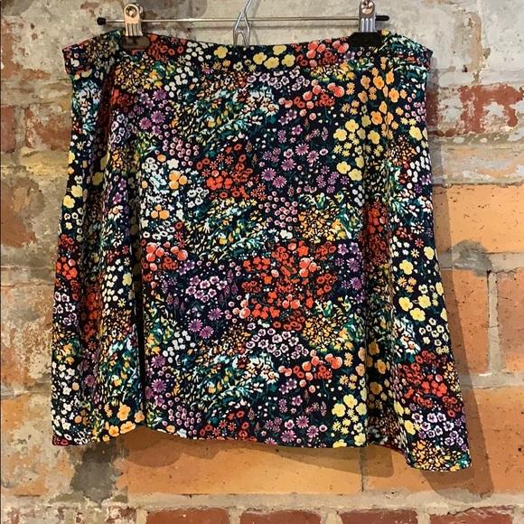 GAP Dresses & Skirts - GAP floral skirt